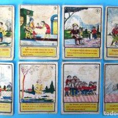 Coleccionismo Cromos antiguos: LOTE DE CROMOS. CROMOS SUELTOS; 1,00 €. ADIVINANZAS. CHOCOLATES JAIME BOIX.. Lote 109560203