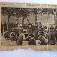 Coleccionismo Cromos antiguos: CROMO CHOCOLATE JUNCOSA FOOTBALL. Lote 110041056