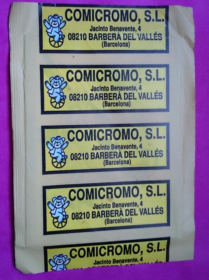 Coleccionismo Cromos antiguos: Sobre cromos sin abrir Comicromo Vida y Color - Foto 2 - 110443411