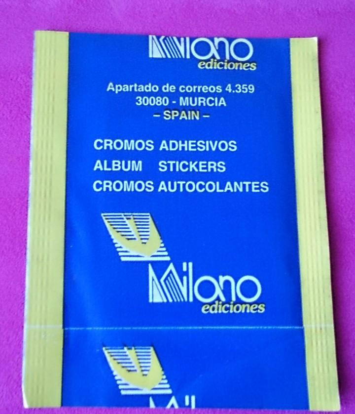 Coleccionismo Cromos antiguos: Sobre de cromos sin abrir Teenage Mutant Ninja Turtles adhesivos Milano Ediciones - Foto 2 - 110443899