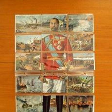 Coleccionismo Cromos antiguos: GUERRA MUNDIAL - INGLATERRA - JORGE V - CHOCOLATES JAIME BOIX - COMPLETA. Lote 21676808