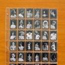 Coleccionismo Cromos antiguos: FOTOTIPIAS DE LAS CAJAS DE CERILLAS - SERIE 13 - COLECCIÓN COMPLETA, 75 FOTOTIPIAS. Lote 110562915
