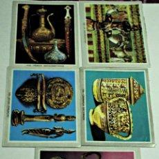 Coleccionismo Cromos antiguos: LOTE DE 5 CROMOS TIPO VIDA Y COLOR.. Lote 110914219