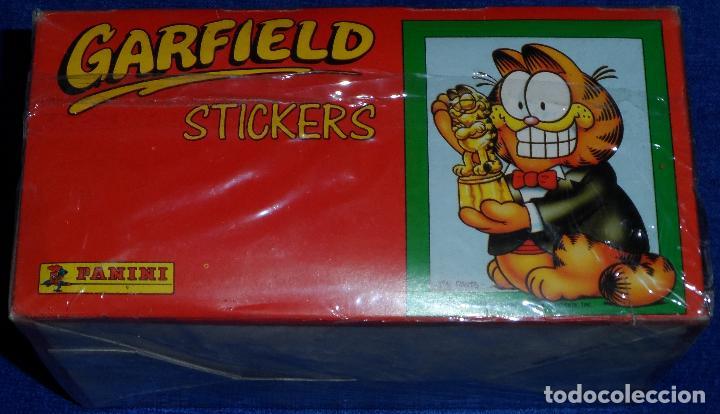 Coleccionismo Cromos antiguos: Caja 100 sobres de Garfield - PANINI - Foto 2 - 194531996