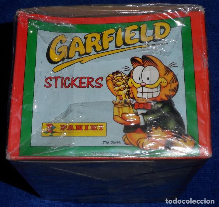 Coleccionismo Cromos antiguos: Caja 100 sobres de Garfield - PANINI - Foto 3 - 194531996