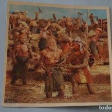 Coleccionismo Cromos antiguos: CROMO DE:LOS DIEZ MANDAMIENTOS,(DESPEGADO),Nº 39,AÑO 1959,DEL ÁLBUM,LOS 10 MANDAMIENTOS,DE BRUGUERA. Lote 112501511