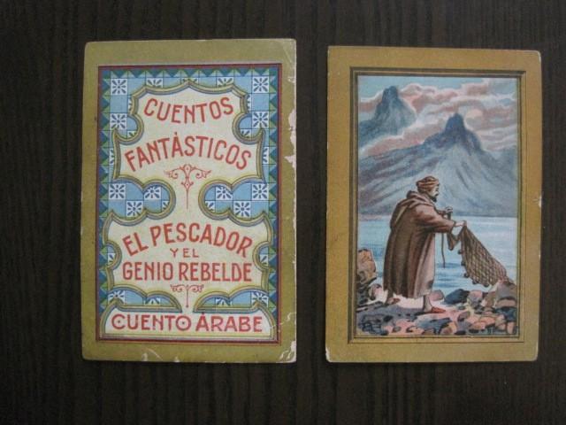 Coleccionismo Cromos antiguos: CUENTOS FANTASTICOS-CUENTO ARABE -CHOCOLATES MONCAU - COMPLETA -20 CROMOS-VER FOTOS-(CR-1059) - Foto 5 - 112658207