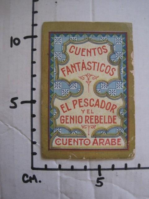 Coleccionismo Cromos antiguos: CUENTOS FANTASTICOS-CUENTO ARABE -CHOCOLATES MONCAU - COMPLETA -20 CROMOS-VER FOTOS-(CR-1059) - Foto 26 - 112658207