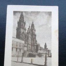 Coleccionismo Cromos antiguos: ESPAÑA MONUMENTAL SERIE I, CATEDRAL DE SANTIAGO, PUBLICIDAD ASPIRINA BAYER. Lote 113337695