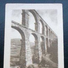 Coleccionismo Cromos antiguos: ESPAÑA MONUMENTAL SERIE I ACUEDUCTO DE TARRAGONA, PUBLICIDAD ASPIRINA BAYER. Lote 113338151