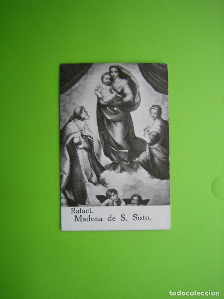 CROMO RELIGIOSO CHOCOLATES AMATLLER. BARCELONA (Coleccionismo - Cromos y Álbumes - Cromos Antiguos)