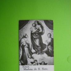 Coleccionismo Cromos antiguos: CROMO RELIGIOSO CHOCOLATES AMATLLER. BARCELONA. Lote 114065223