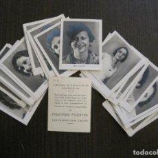 Coleccionismo Cromos antiguos: CONCURSO BELLEZAS ESPAÑA AÑO 1932-COL. COMPLETA 32 CR-TABACOS FUENTES CANARIAS-VER FOTOS-(V-13.695). Lote 114188863