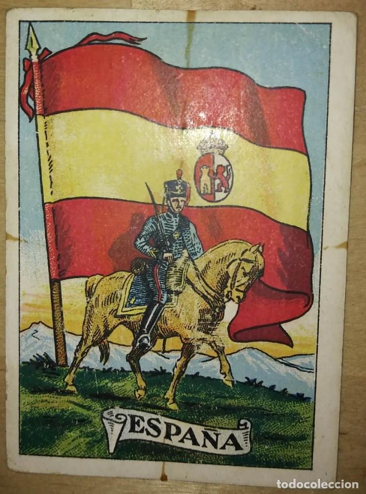 CABALLERÍA Y BANDERAS NACIONALES. COLECCIÓN COMPLETA DE 50 CROMOS - 114305263