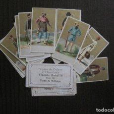 Coleccionismo Cromos antiguos: COLECCION 22 CROMOS -VESTIDOS NACIONES - PUBLICIDAD CHOCOLATES ROSELLO-MALLORCA-VER FOTOS-(V-13.846). Lote 115693947