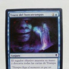 Coleccionismo Cromos antiguos: CARTA MAGIC TRUCO DEL BUSCATRAMPAS CONJURO EN ESPAÑOL CROMO TARJETA JUGAR. Lote 116196083