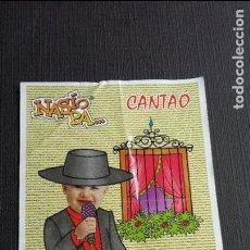 Coleccionismo Cromos antiguos: BIMBO BIMBOCAO .- NASIO PA ... CANTAÓ ( NUNCA PEGADO ). Lote 116208035