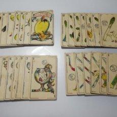 Coleccionismo Cromos antiguos: ANTIGUAS CARTAS CROMOS AÑOS 20 CHOCOLATES HIJO DE A. LÓPEZ VILLAJOYOSA. Lote 116723588