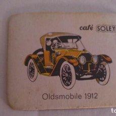 Coleccionismo Cromos antiguos: CROMO COCHE CAFÈ SOLEY. Lote 117046787