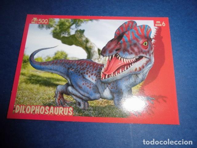 cromos nº 99 Panini dinosaurios como yo!