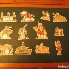 Coleccionismo Cromos antiguos: PHOSKITOS LOTE SOLDADOS DE LA 2ª GUERRA MUNDIAL. Lote 118119787