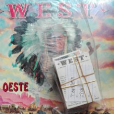 Coleccionismo Cromos antiguos: WEST EL OESTE PANINI 1992. Lote 118279914
