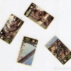 Coleccionismo Cromos antiguos: @ PORT AVENTURA @ - CROMOS Nº 7, Nº 14, Nº 18 Y Nº 20.. Lote 118837999