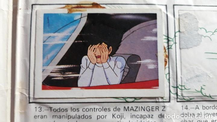 MAZINGER Z FHER N 13 (Coleccionismo - Cromos y Álbumes - Cromos Antiguos)