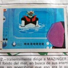 Coleccionismo Cromos antiguos: MAZINGER Z FHER N 62. Lote 135079399