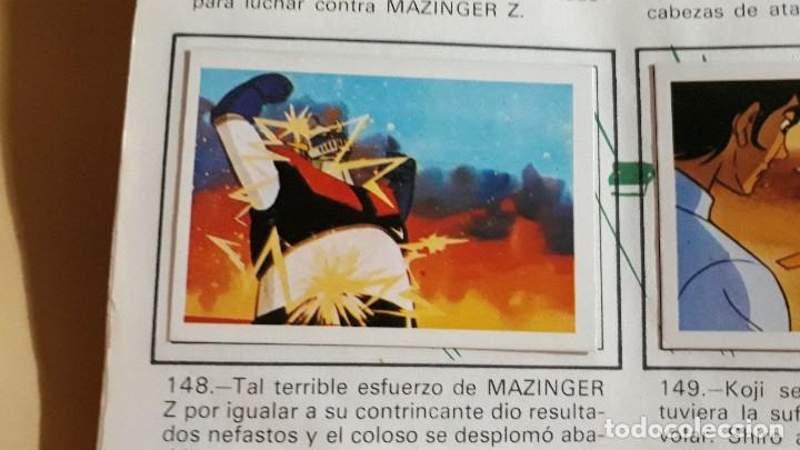 MAZINGER Z FHER N 148 (Coleccionismo - Cromos y Álbumes - Cromos Antiguos)
