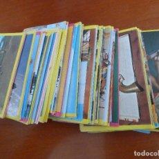 Coleccionismo Cromos antiguos: LOTE MUCHOS CROMOS COLECCION HISTORIA DE LAS ARMAS PERFECTO ESTADO. Lote 119379087