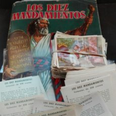 Coleccionismo Cromos antiguos: LOS DIEZ MANDAMIENTOS PIDE TUS FALTAS. 0,8. Lote 119424010