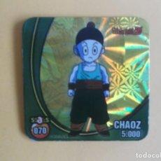 Coleccionismo Cromos antiguos: STAKS DRAGON BALL Z BOLA DE DRAGON PANINI DRAGONBALL Nº 079 CHAOZ. Lote 120004895
