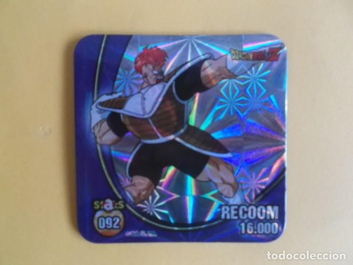 STAKS DRAGON BALL Z BOLA DE DRAGON PANINI DRAGONBALL Nº 092 RECOOM (Coleccionismo - Cromos y Álbumes - Cromos Antiguos)