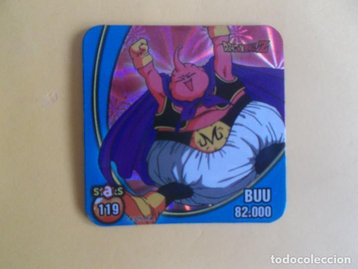 STAKS DRAGON BALL Z BOLA DE DRAGON PANINI DRAGONBALL Nº 119 BUU (Coleccionismo - Cromos y Álbumes - Cromos Antiguos)