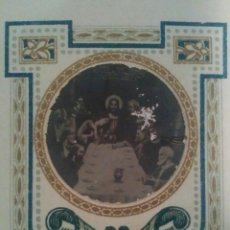 Coleccionismo Cromos antiguos: ANTIGUO CROMO O ESTAMPA RELIGIOSO FOTO SOBRE PAPEL. Lote 83686490
