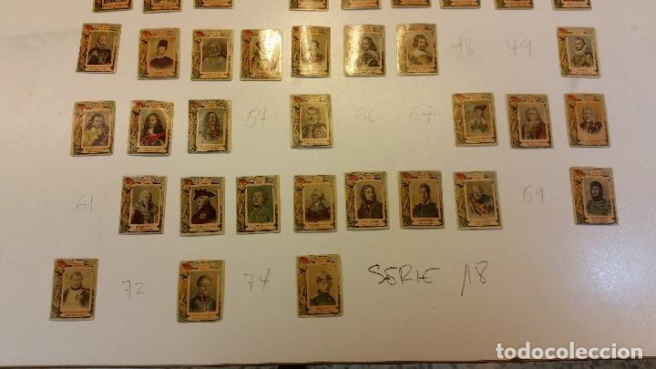 Coleccionismo Cromos antiguos: serie 18. Fototipias, 61 cromos. - Foto 2 - 120232019