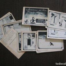 Coleccionismo Cromos antiguos: AVENTURAS GATO PERIQUITO MORRONGUIS-PROGRAMA VILASECA Y LEDESMA-COMPLETA 32 CR.-VER FOTOS-(V-14.412). Lote 120242935