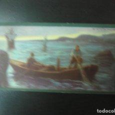 Coleccionismo Cromos antiguos - JUAN SEBASTIAN ELCANO. SERIE DE 10 CROMOS COMPLETA. CROMOS CULTURALES. EDICIONES BARSAL - 120689011