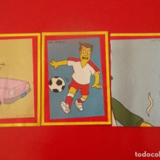 Coleccionismo Cromos antiguos: LOTE 3 CROMOS THE SIMPSONS THE SPRINGFIELD COLLECTION. 28 46 127. Lote 120711711