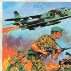 Coleccionismo Cromos antiguos: TÉCNICA Y ACCIÓN - CROMO Nº 123 - ARMAS Y TROPAS DE LA OTAN - EDICIONES ESTE - NUNCA PEGADO.. Lote 191274740