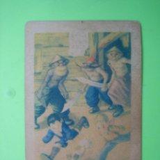 Coleccionismo Cromos antiguos: ANTIGUO CROMO CHOCOLATES AMATLLER. BARCELONA. Lote 120846615