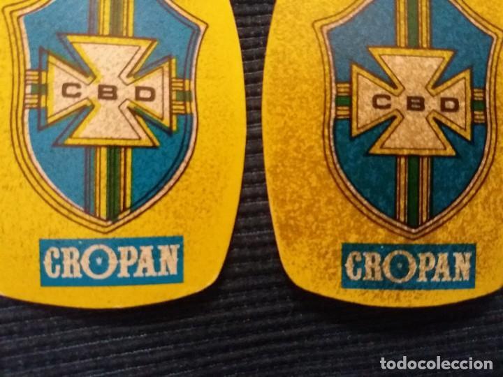 Coleccionismo Cromos antiguos: CROPAN ESCUDO SELECCION BRASIL ERROR IMPRESION MOVIDO JUEGA LOS MUNDIALES 82 - Foto 3 - 120850671