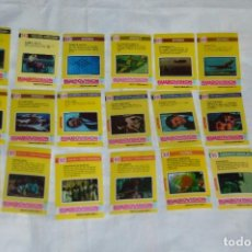 Coleccionismo Cromos antiguos: VINTAGE - LOTE DE 19 CROMOS BIMBOVISION - BAIGORRI SA - BIMBO - BUEN ESTADO - HAZ OFERTA. Lote 121870679