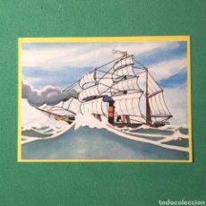 Coleccionismo Cromos antiguos: CROMO DANONE COLECCIÓN ALBUM - LA VUELTA AL MUNDO DE WILLY FOG - N°28. Lote 122226875