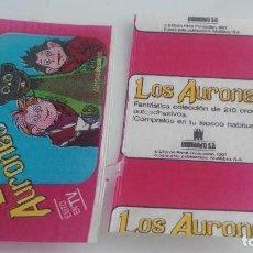 Coleccionismo Cromos antiguos: ANTIGUO SOBRE DE CROMOS VACIO LOS AURONES. Lote 122333291