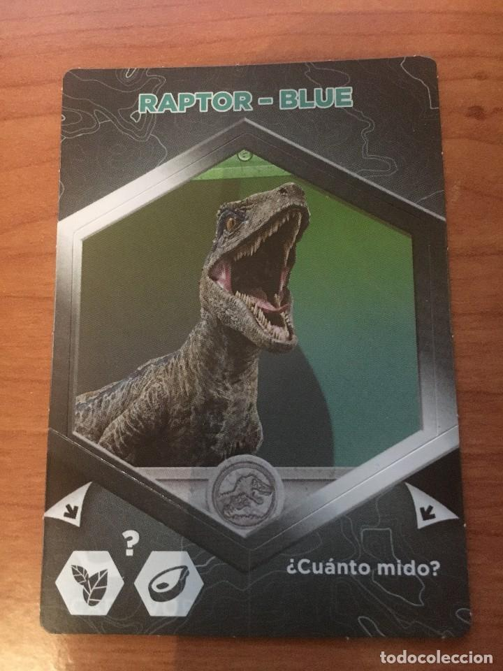 PANINI-Jurassic World-sammelsticker x6