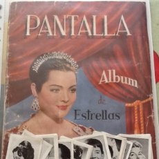Coleccionismo Cromos antiguos: LOTE DE 100 CROMOS SUELTOS PANTALLA ÁLBUM ESTRELLAS, NUNCA PEGADOS. Lote 122681583