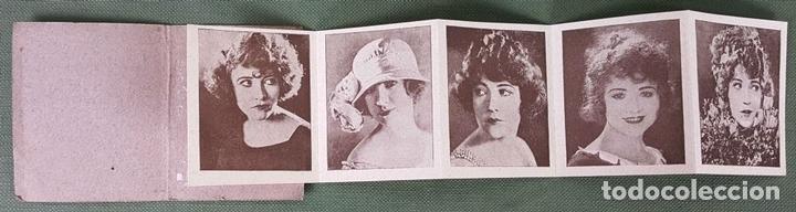 Coleccionismo Cromos antiguos: COLECCION DE 6 CROMOS. GALERIA DE LAS ESTRELLAS DE CINE. CHOCOLATES AMATLLER. AÑOS 40. - Foto 3 - 122742859