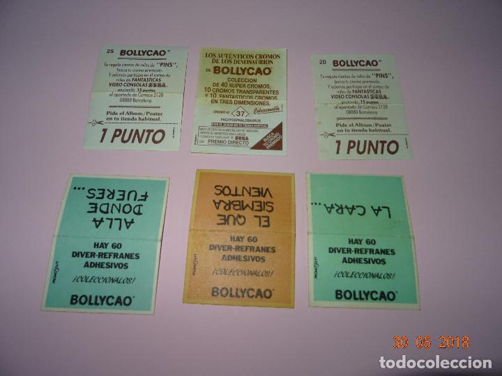 Coleccionismo Cromos antiguos: Antiguos 6 Cromos Premium de BOLLYCAO - Foto 2 - 122913531